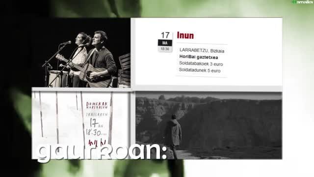Musika Zuzenean 10.saioa: Glaukoma eta Iñigo Etxarri