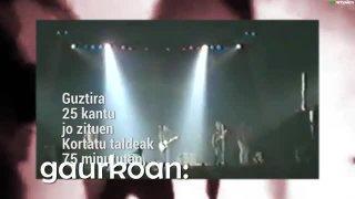 Musika Zuzenean 12.saioa: Xabi San Sebastian eta Trini Fox
