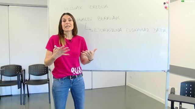 Euskaltzale 6.saioa: Helduen euskalduntze alfabetatzea