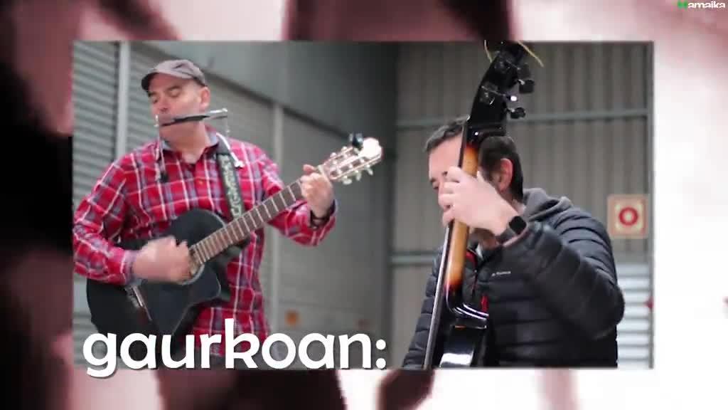 Musika Zuzenean 26: La Jodedera taldea, Unai Gorraiz