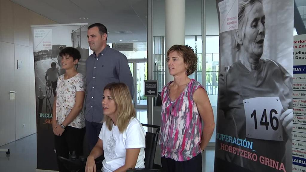Kirol egokituak egiteko programa, Nafarroako Kirol eta Gazteriaren Institutuaren eskutik