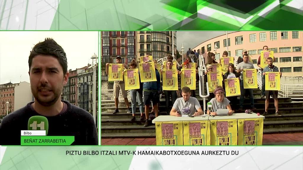 Piztu Bilbo, MTV ekimenak