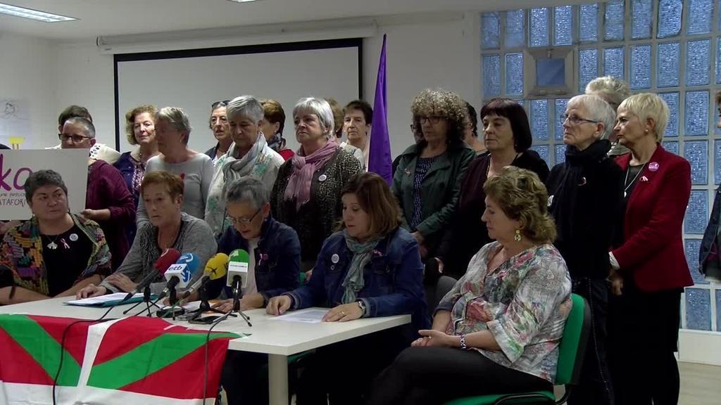 ONEKA euskal emakumeen pentsionisten plataforma aurkeztu dute