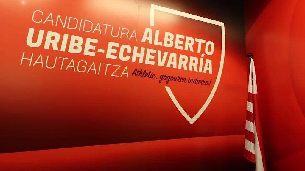 Athletic-ek dituen erronka berriei heltzeko prest azaldu dira Uribe-Echevarria eta Aldazabal