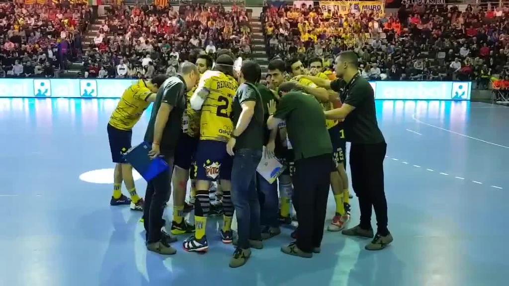 Bidasoa Irun eskubaloi taldeak kopako finala jokatu du Lleidan