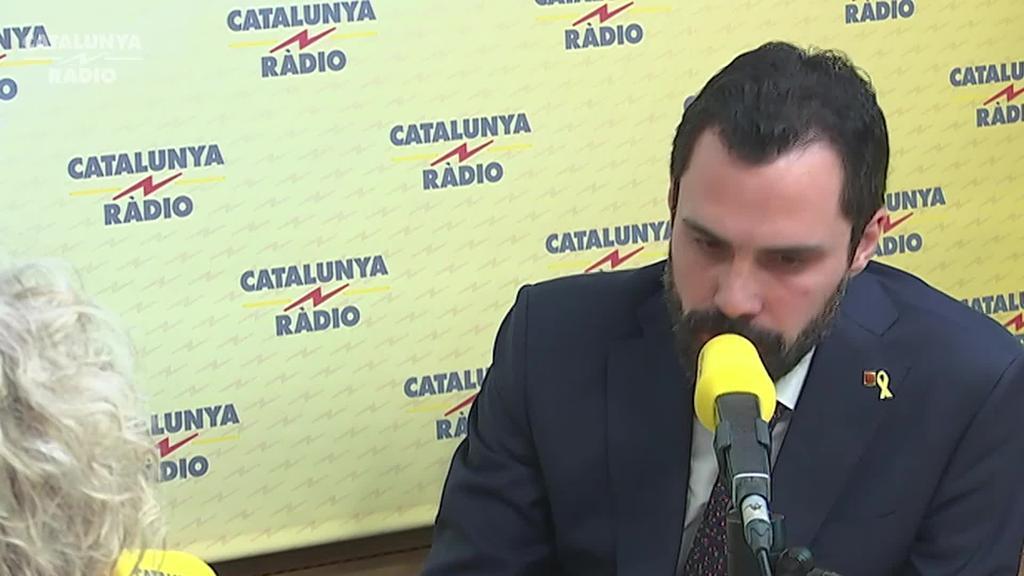 Errepresioarekin jarraituz gero, alderdi kataluniarrek ez dituztela Sanchezen aurrekontuak babestuko dio Torrentek