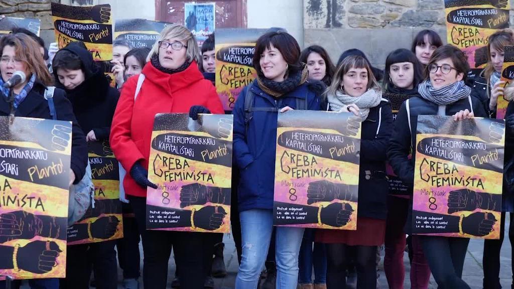 Zaintzaren gatazkari emango diote zentralitatea M8ko greba feministan