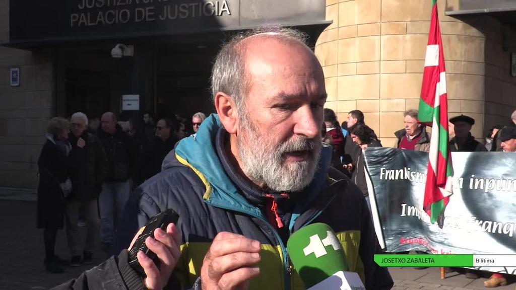 Frankismoaren sei biktimak torturen salaketak erregistratu dituzte Tolosako epaitegian