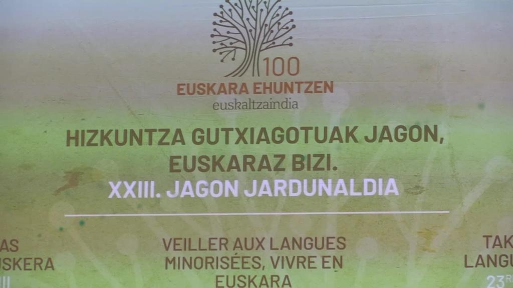Euskaltzaindiaren mendeurreneko ospakizunak gaur hasi dira XXIII. Jagon jardunaldiekin