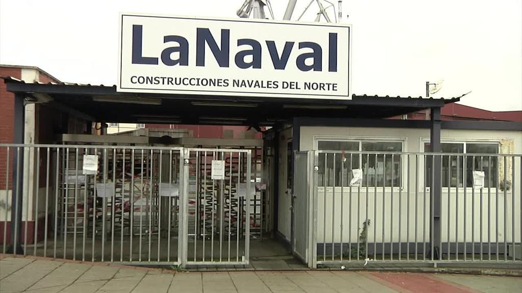 La Naval-eko langileek lan erregulazio-txostena sinatu dute