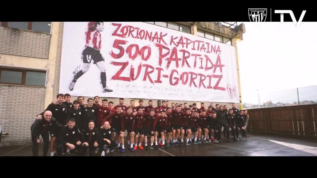Markel Susaetak 500 partida jokatu ditu Athletic-en lehen taldearekin