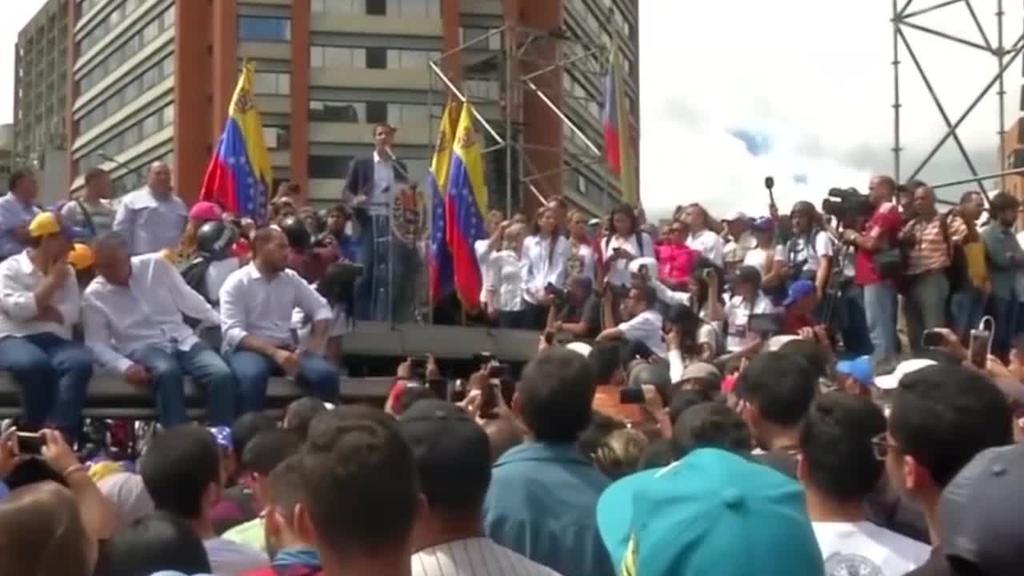 Estatu kolpe saiakerak ez du arrakastarik izan Venezuelan