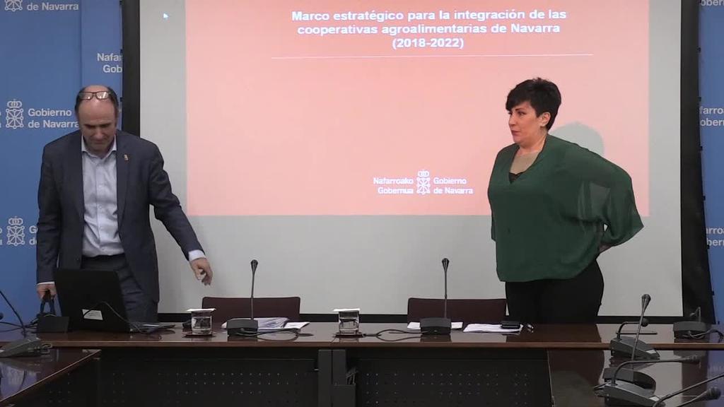 Nafarroako Gobernuak Nekazaritzako Elikadura Kooperatiben lan ildoa aurkeztu du