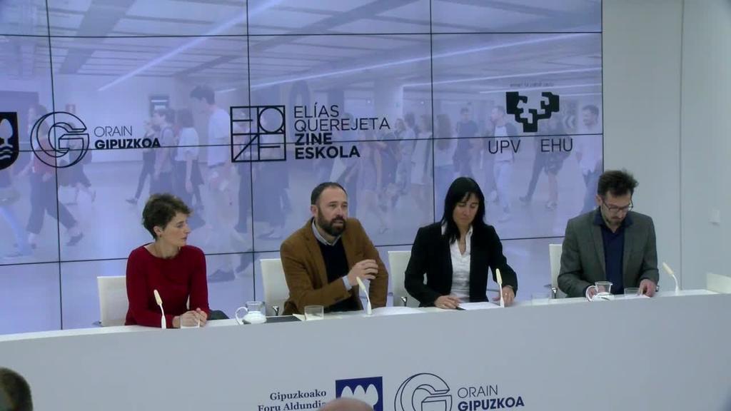 EHUri atxikitako unibertsitate zentru bihurtu da Elias Querejeta Zine Eskola