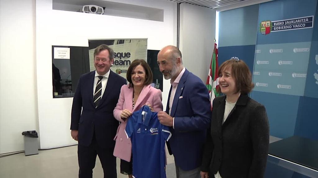 Eibarrek eta Athletic Club-ek bat egin dute Basque Team Fundazioarekin