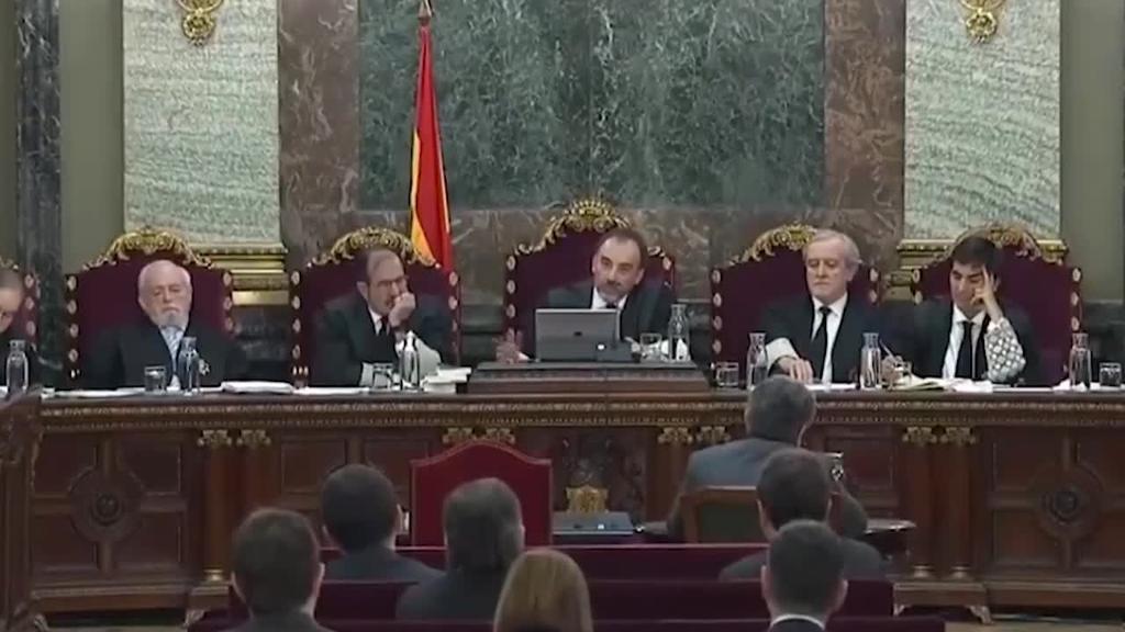 Kataluniako buruzagien aurkako epaiketaren laugarren asteari ekin diote Auzitegi Gorenean