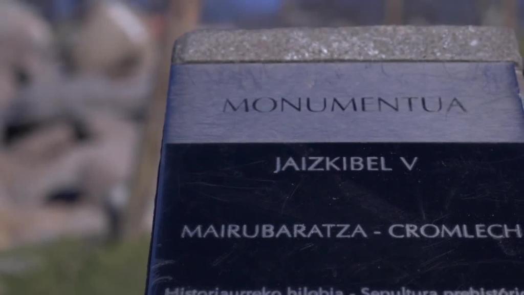 Jaizkibel V aztarnategian hilobi bat topatu du Aranzadi Zientzia Taldeak