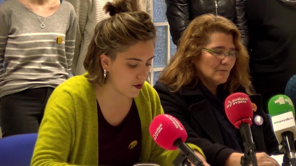 Mugimendu Feministak Martxoaren 8an emandako