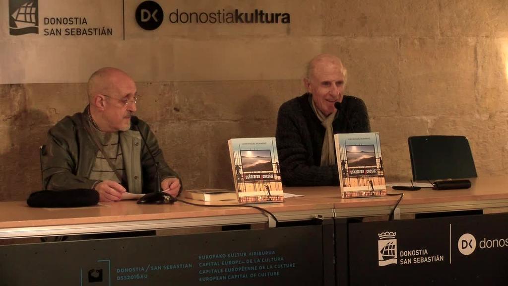 Euskararen eboluzioari buruzko ikerketa bat kaleratu du Juan Miguel Munarrizek