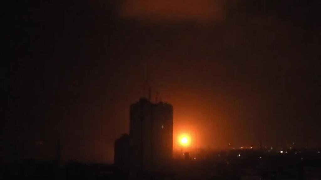 Gaza bonbakatu du Israelek, Tel Avivera bideratutako bi koheteri erantzun gisa