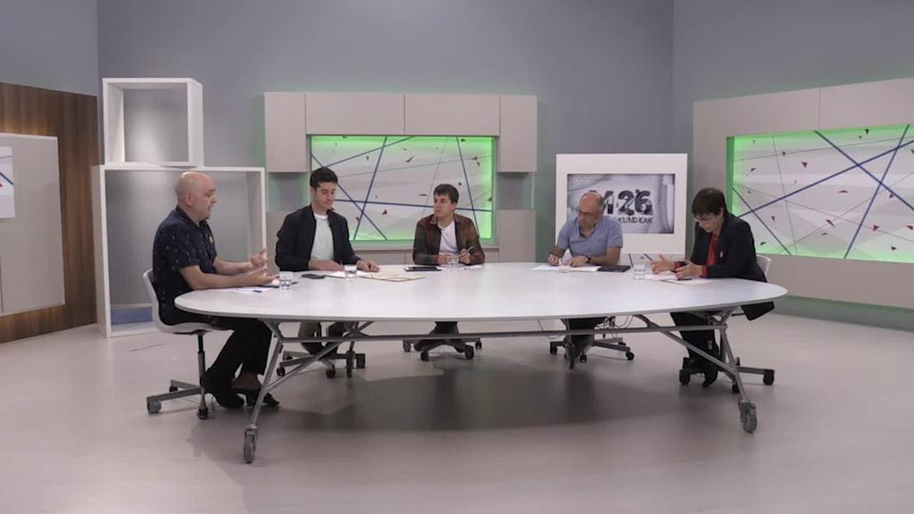 Udal hauteskundeetarako debatea: Iruñea