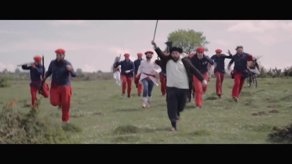 'Napardeath' filma aurkeztu du Beñat Iturrioz zuzendariak