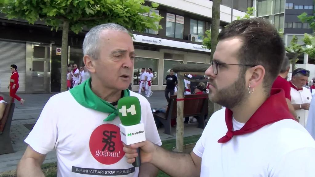 Uztailaren 8a: urtero bezala, German Rodriguez oroitu dute bere hilketaren 41. urteurrenean