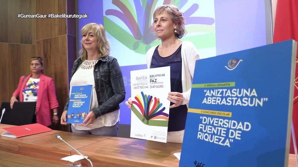 Nafarroako Gobernuak 'Bakea eta Bizikidetzaren aldeko Liburutegiak' ekimena aurkeztu du