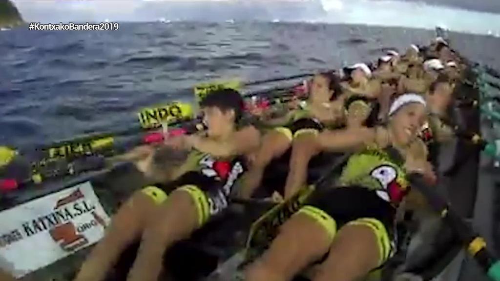 Hondarribiak eta Oriok irabazi dituzte Kontxako banderak