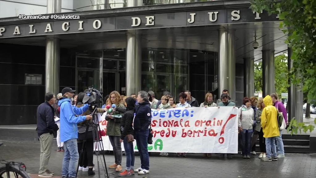 ELA sindikatuak Gasteizko epaitegiari eskatu dio Osakidetza Garapen Profesionala ordaintzera behar dezala