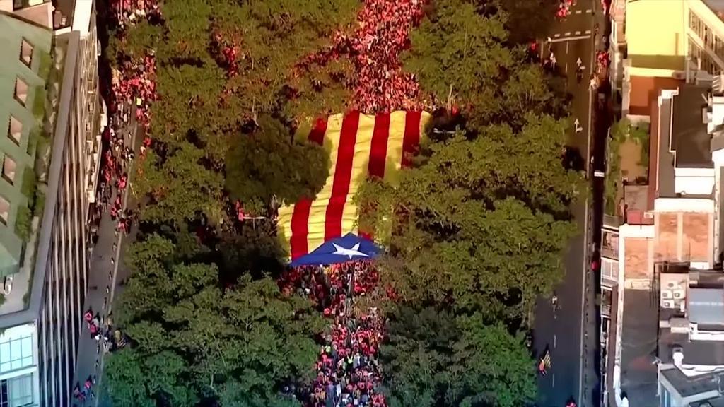 Kataluniako presoen aurkako epaia izango da Diada eguneko protagonista
