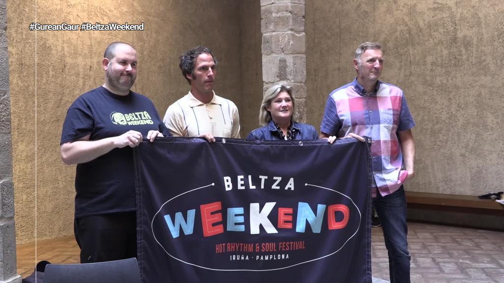 Beltza Weekend jaialdia ospatuko da Iruñean asteburu honetan