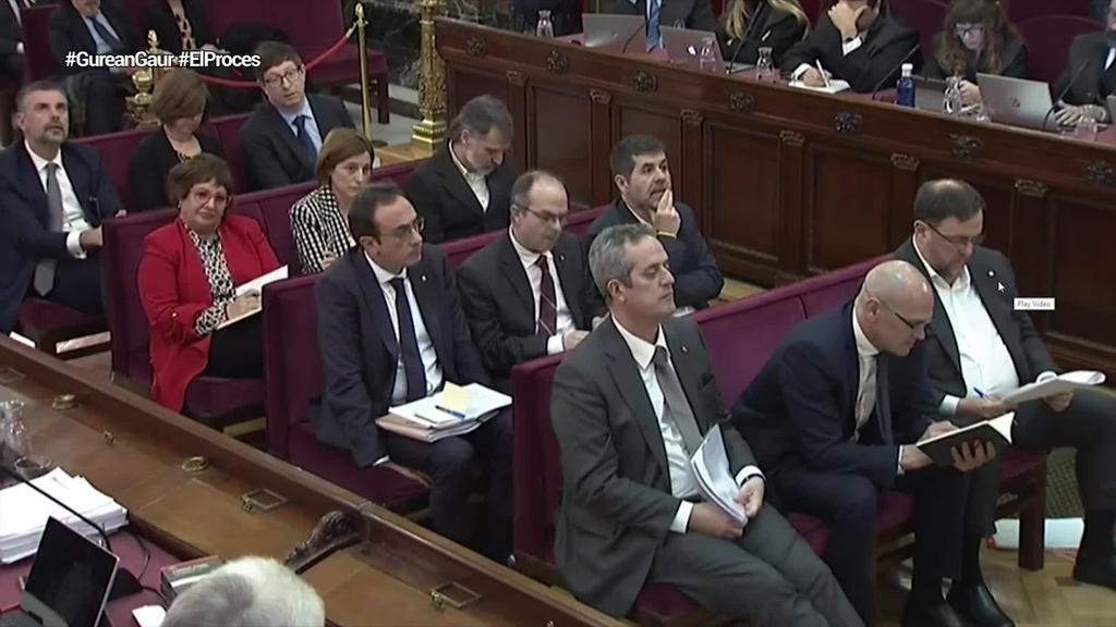 Kataluniako prozesuaren epaiketaren epaia urrian jakitera emango dute
