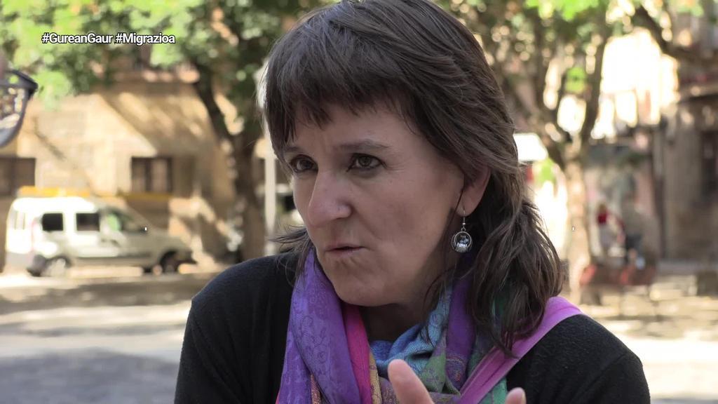 Begoña Zestao: 'Zergatik etiketatzen ditugu gazteak euren jatorriaren arabera?'