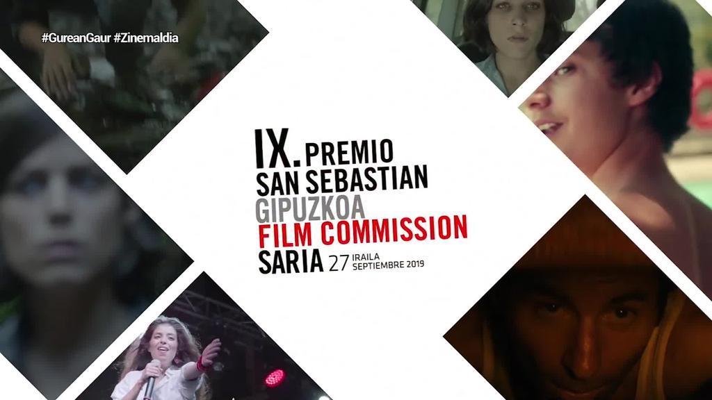 19. San Sebastian Gipuzkoa Film Commission saria irailaren 27an banatuko dute