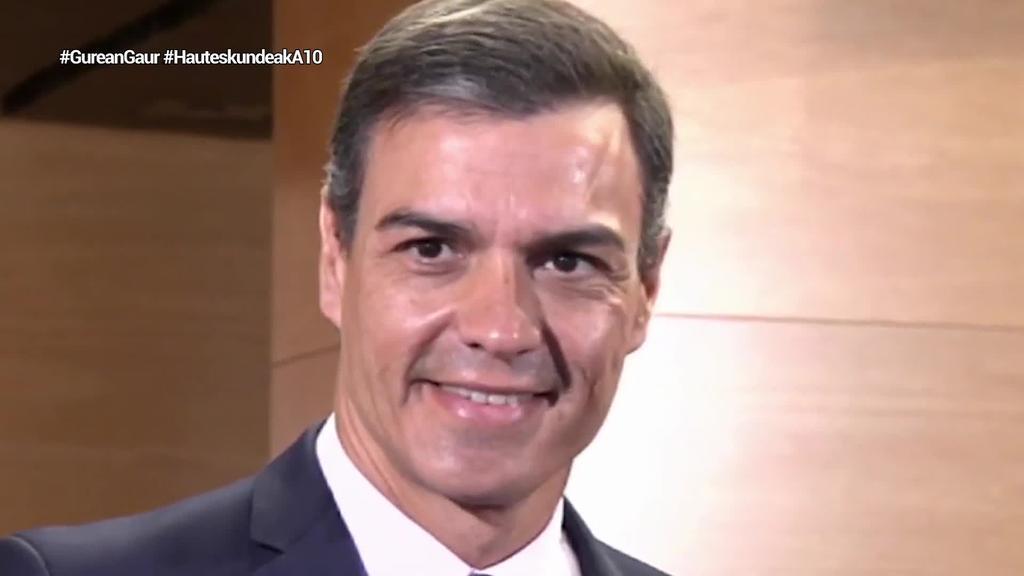 Huts egin du Pedro Sanchezek negoziaketetan