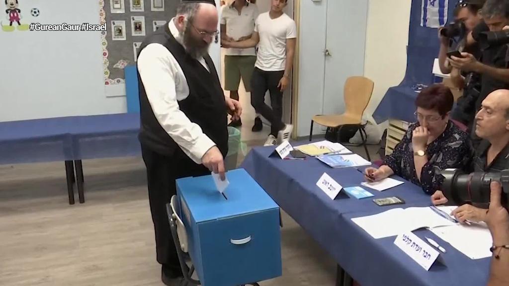 Netanyahuk alde egin behar izango du Israelen kontzentrazio gobernu bat osatzeko