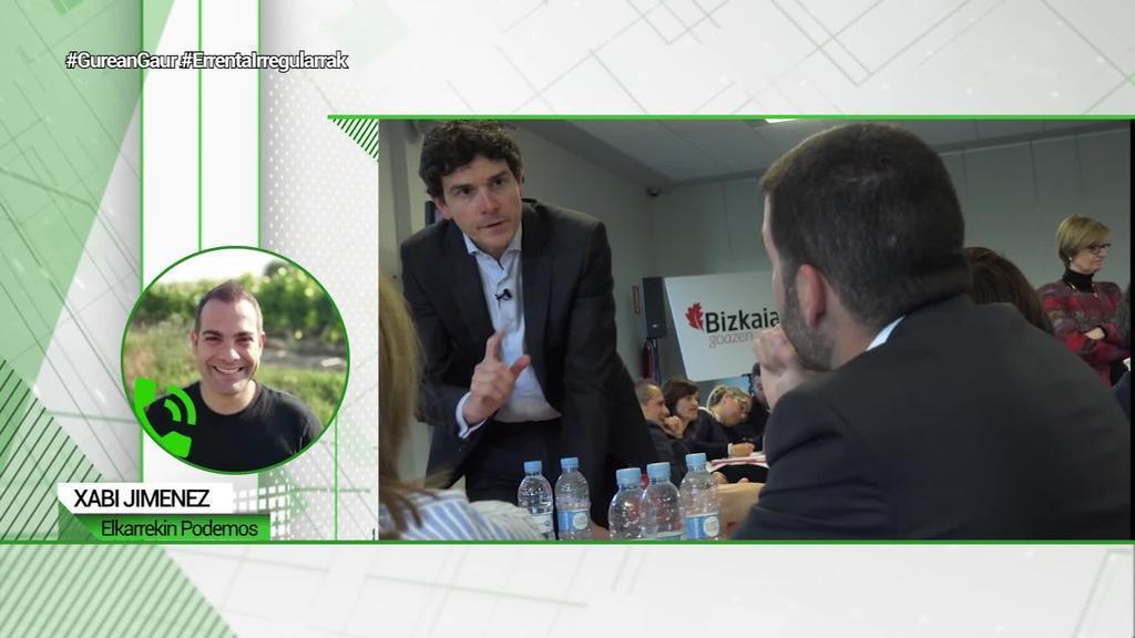 Xabi Jimenez Elkarrekin Podemos: