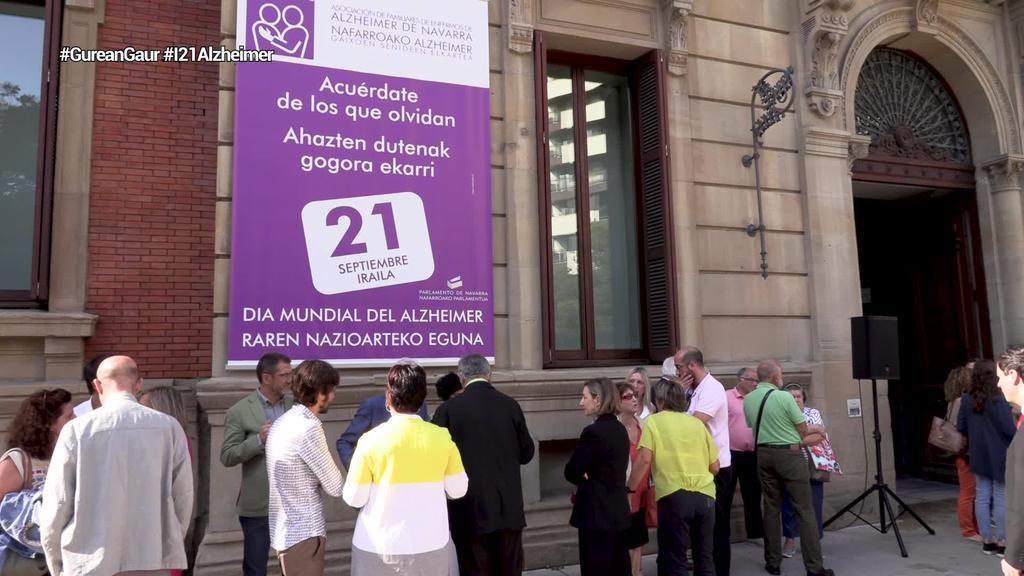 Bihar ospatzen da Alzheimerraren Nazioarteko Eguna