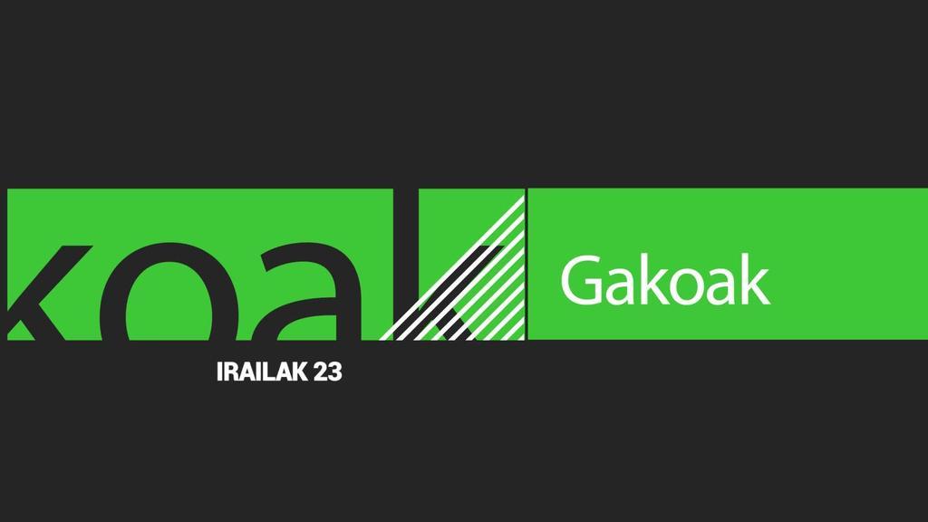 GAKOAK | 2019-09-23