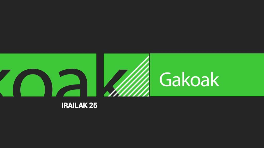 GAKOAK | 2019-09-25