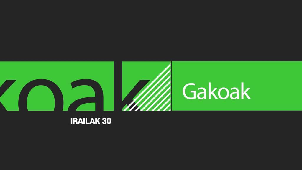 GAKOAK | 2019-09-30