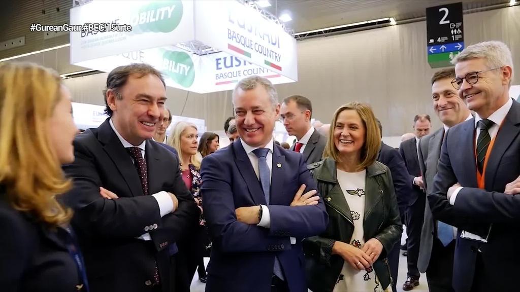 """Urkullu: """"BEC! Euskadi Basque Countryren nazioarteko agertokia da"""""""