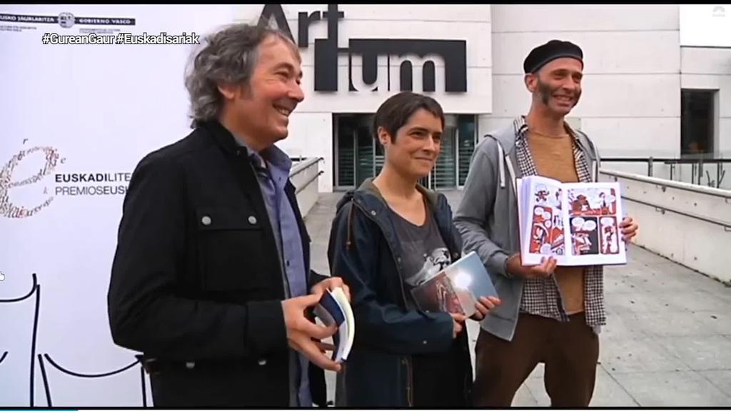 Irati Elorrietak, Patxi Zubizarretak eta Asisko Urmenetak irabazi dute Euskadi saria