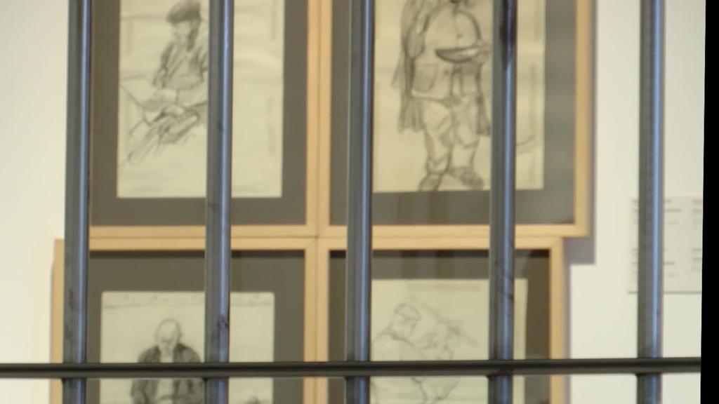 'Kartzela eta erbestea' erakusketak Jose Manauten lanak bildu ditu Durangon