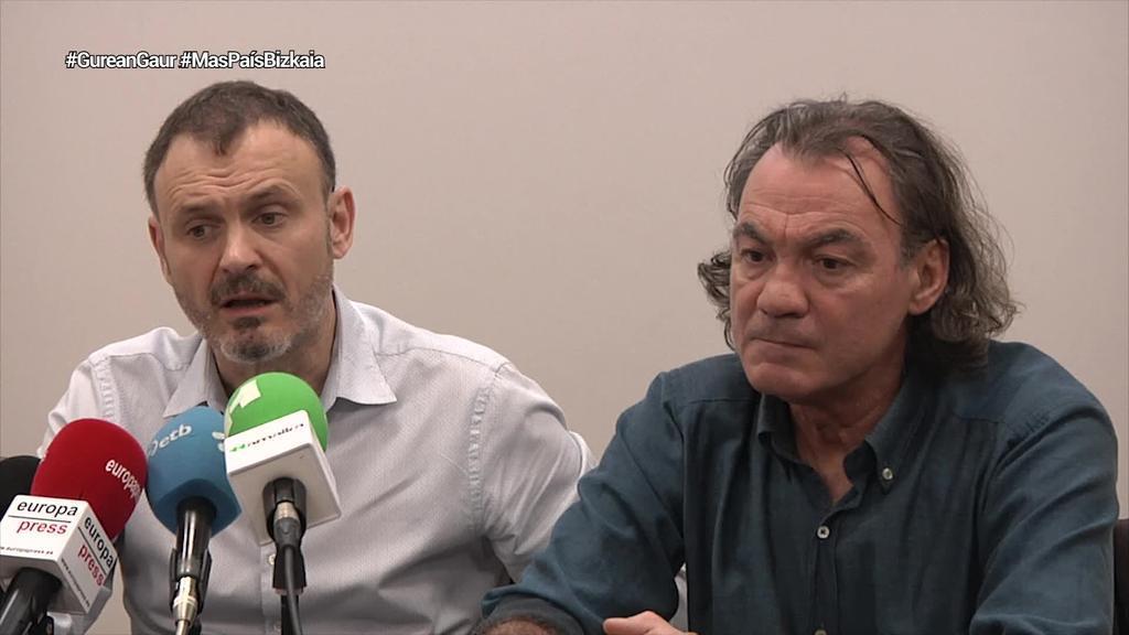 Mas Paísek Solidariaren egitura erabiliko du Bizkaian, behar beste sinadura lortuz gero