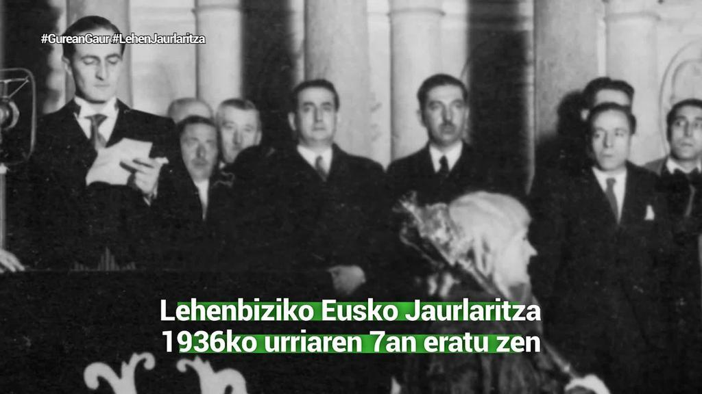 Lehenbiziko Eusko Jaurlaritza 1936ko urriaren 7an eratu zen