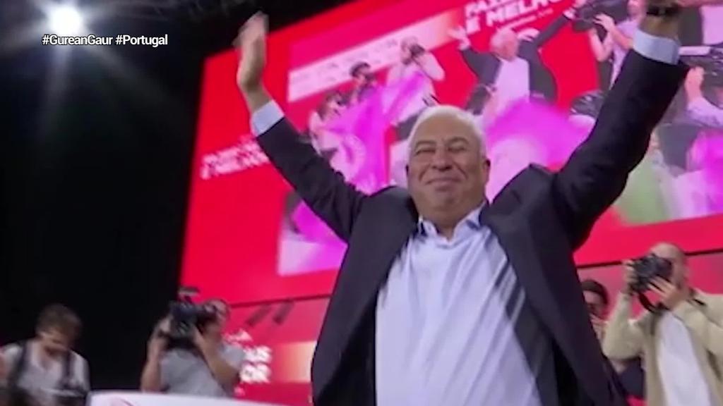 Alderdi Sozialistak irabazi ditu hauteskundeak Portugalen