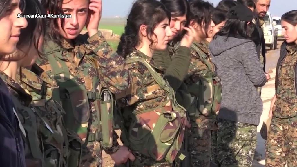 Rojavatik alde egin du AEBetako armadak, Turkiari lurraldea inbaditzeko atea irekiz