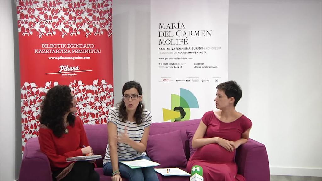 Kazetaritza feministari buruzko lehen kongresuak gremioaren erronkak aztertuko ditu